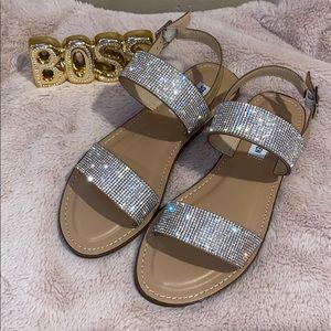 Rhinestone Steve Madden sandals